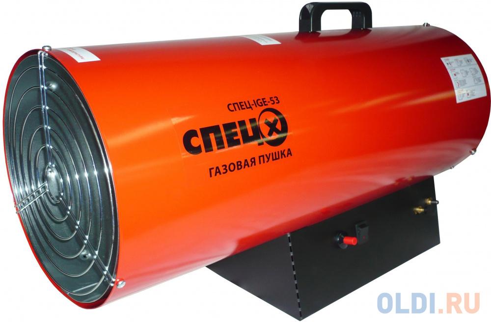 Тепловая пушка газовая Спец СПЕЦ-IGE-53 53000Вт красный/черный.