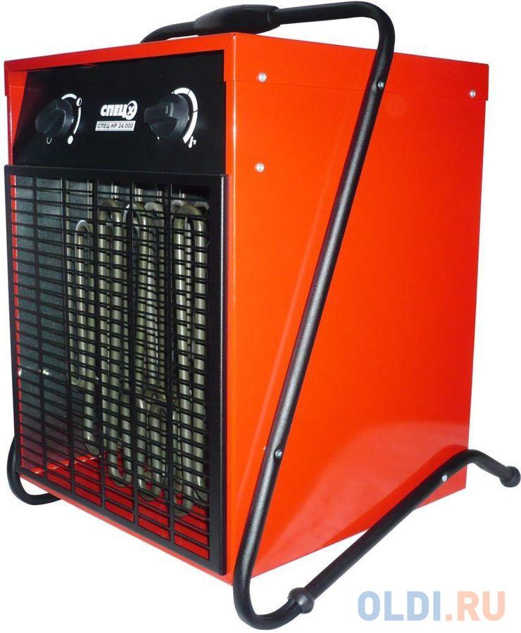 Тепловентилятор Спец СПЕЦ-HP-24.000 24000Вт красный/черный.