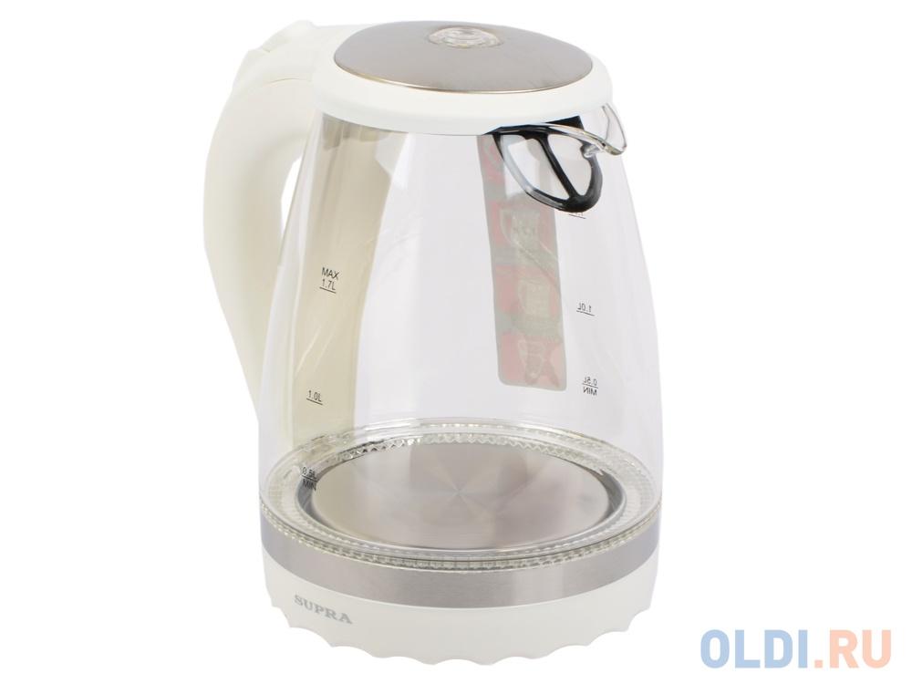 Чайник Supra KES-2003N стекло white чайник supra kes 1800
