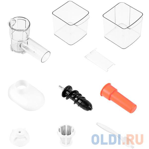 Соковыжималка шнековая Kitfort КТ-1110-2 соковыжималка kitfort кт 1106 2 шнековая серебристый и черный