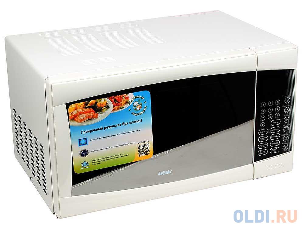 Микроволновая печь BBK 23MWS-915S/W микроволновая печь bbk 23mws 827t w