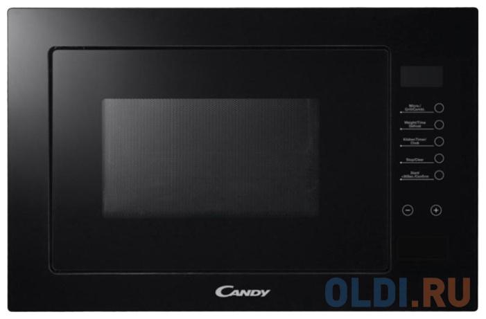 Фото - Встраиваемая микроволновая печь Candy MIC 20 GDFN 800 Вт чёрный микроволновая печь candy cmxw20ds 700 вт серебристый чёрный