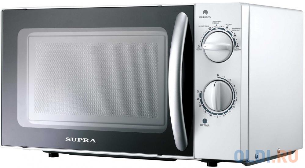 Микроволновая печь Supra 18MW25 700 Вт белый соковыжималка supra jes 1027 25 вт оранжевый