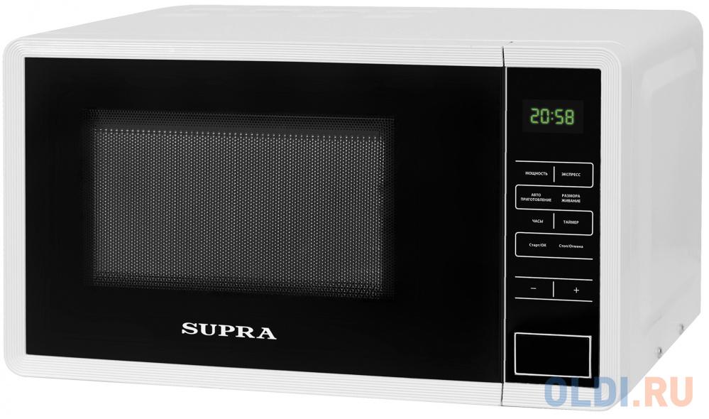 Микроволновая печь Supra 20SW50 700 Вт белый соковыжималка supra jes 1027 25 вт оранжевый
