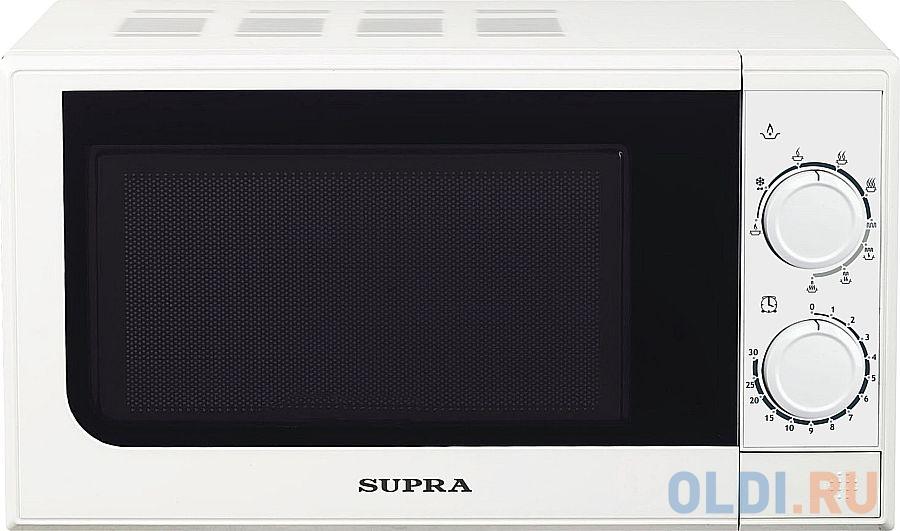 Микроволновая печь Supra 20MW25 700 Вт белый соковыжималка supra jes 1027 25 вт оранжевый