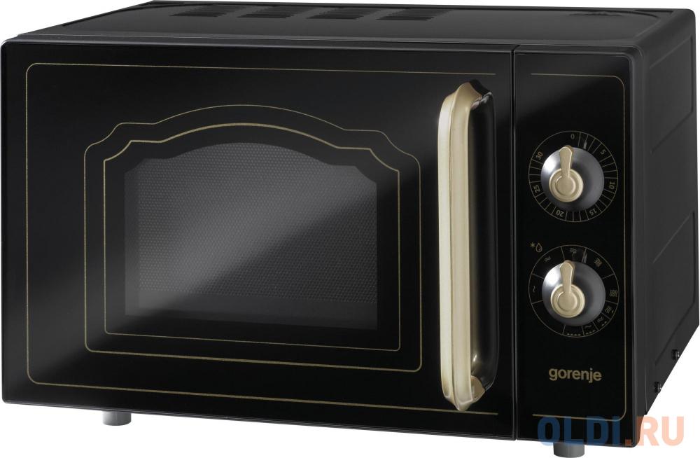 Фото - Микроволновая печь Gorenje MO4250CLB 700 Вт чёрный микроволновая печь candy cmxw20ds 700 вт серебристый чёрный