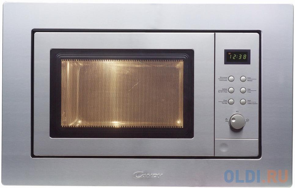 Фото - Микроволновая печь Candy MIC 201 EX 800 Вт серебристый микроволновая печь candy cmxw20ds 700 вт серебристый чёрный