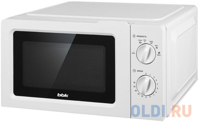 Микроволновая печь BBK 17MWS 783M/W 700 Вт белый фото