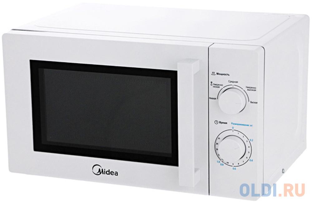 Микроволновая печь Midea MM720CY6 700 Вт белый микроволновая печь midea mm720cy6 w белая