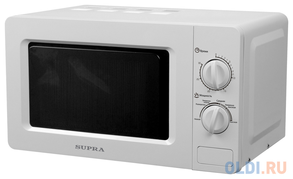 Микроволновая печь Supra 18MW26 700 Вт белый соковыжималка supra jes 1027 25 вт оранжевый