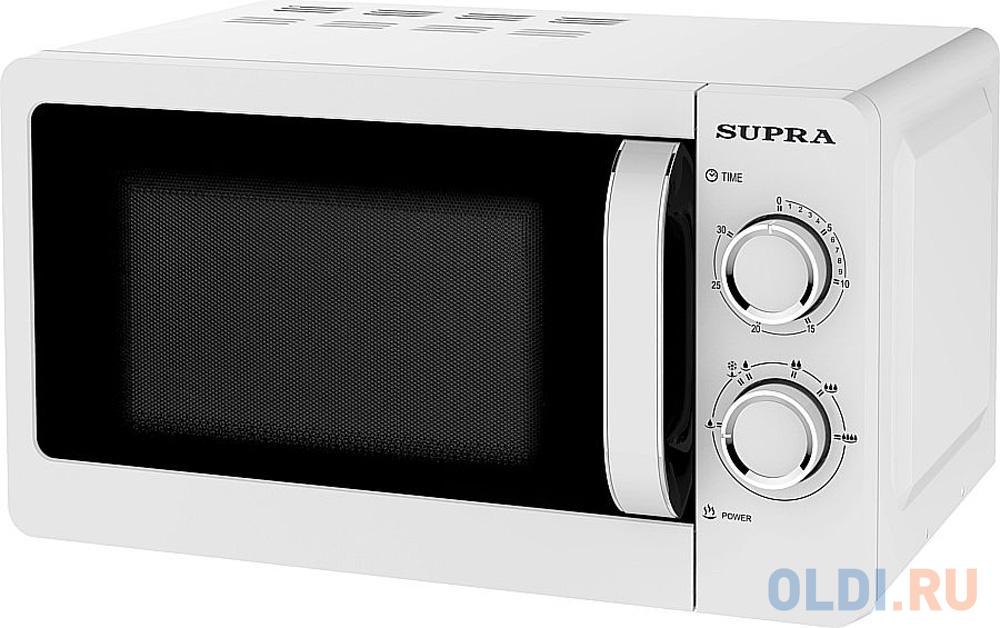 Фото - Микроволновая печь Supra 20MW55 700 Вт белый микроволновая печь supra 20sw25 белый