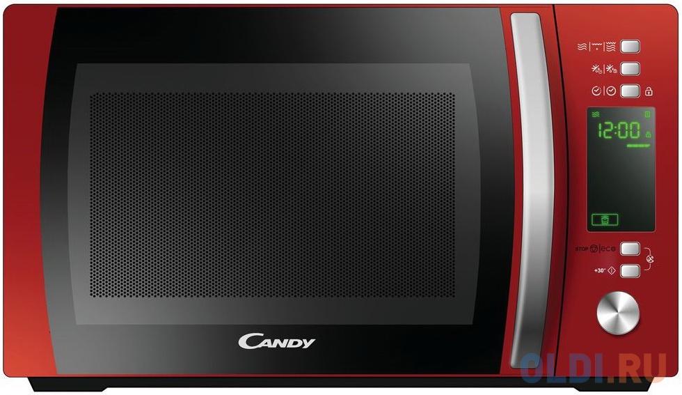 Фото - Микроволновая печь Candy CMXG20DR 700 Вт красный микроволновая печь candy cmxw20ds 700 вт серебристый чёрный