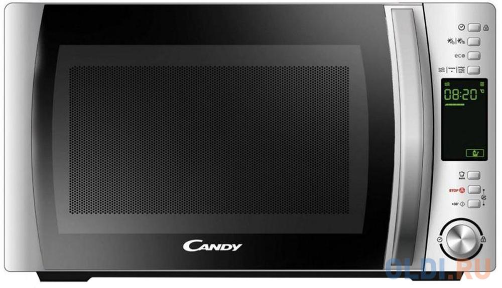 Фото - Микроволновая печь Candy CMXG 22DS 800 Вт серебристый микроволновая печь candy cmxw20ds 700 вт серебристый чёрный