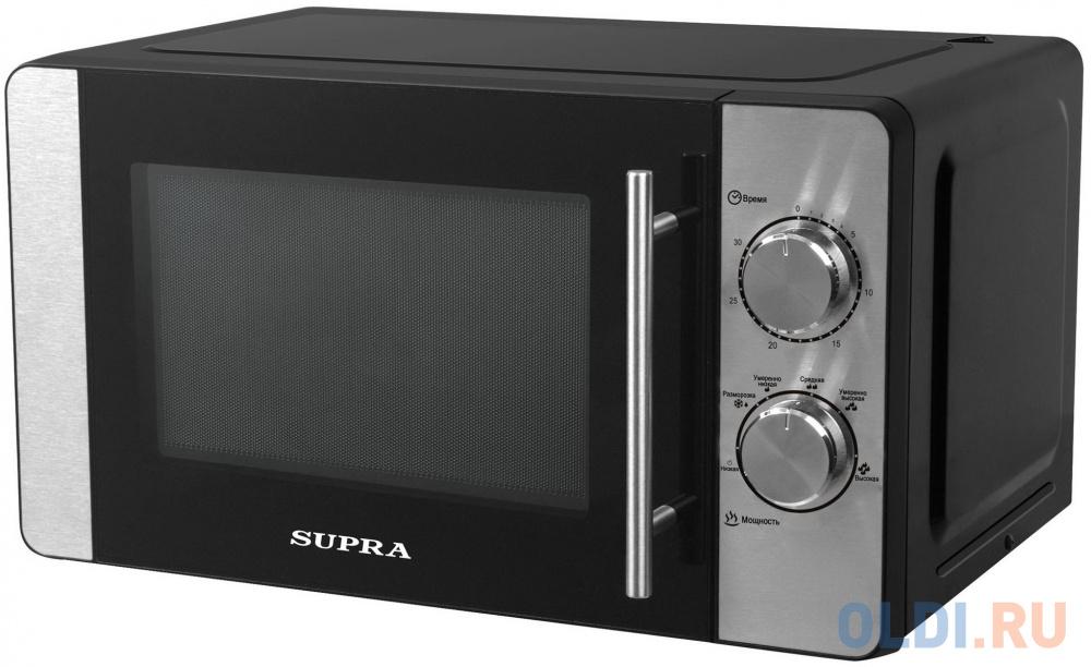 Микроволновая Печь Supra 20MB22 20л. черный