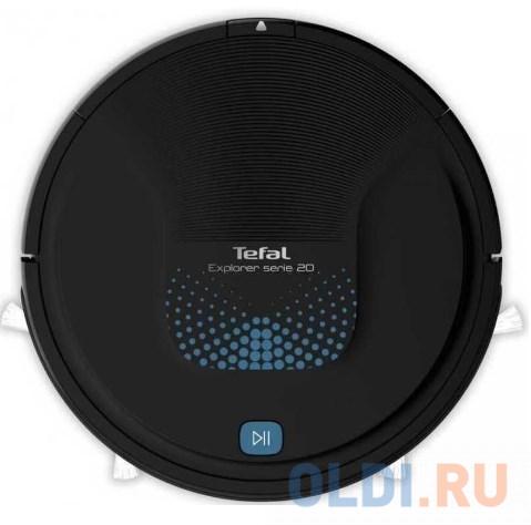 Робот-пылесос Tefal RG6875WH сухая уборка чёрный