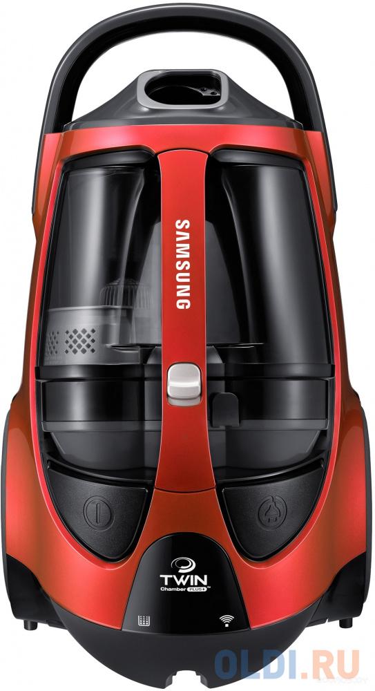 Пылесос Samsung VCC885FH3P сухая уборка красный пылесос samsung sc20m257awr