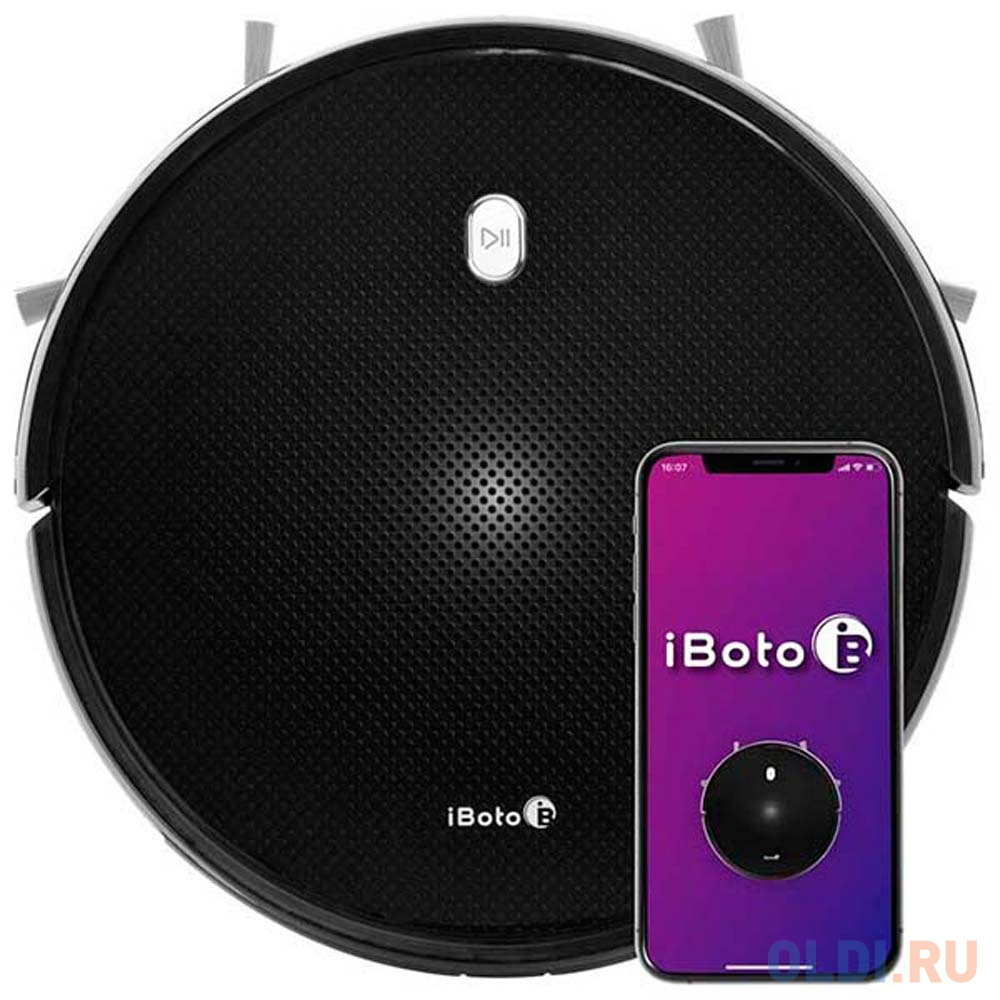 Пылесос-робот iBoto Smart V720GW Aqua черный робот iboto win 199