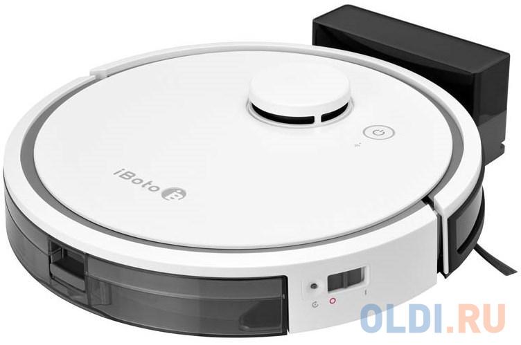 Робот-пылесос iBoto Smart L920W сухая влажная уборка белый чёрный
