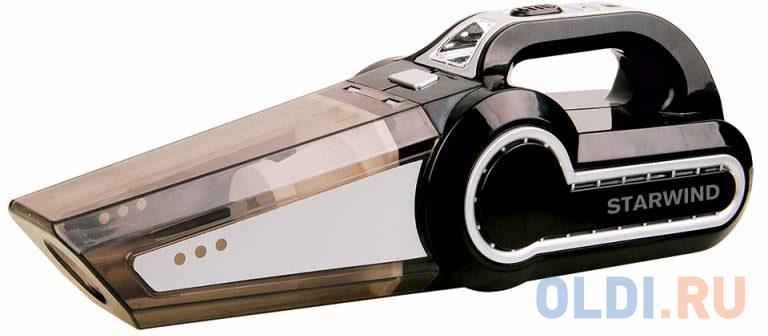 Автомобильный пылесос StarWind CV-130 сухая уборка чёрный автопылесос starwind cv 100