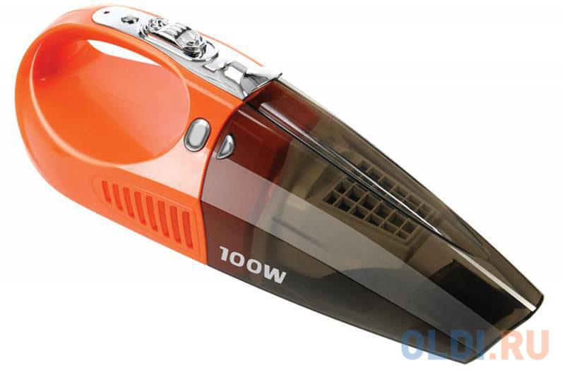Автомобильный пылесос StarWind CV-110 сухая уборка оранжевый автопылесос starwind cv 100