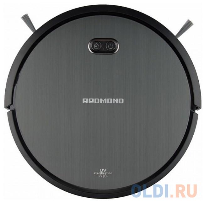 Пылесос-робот Redmond RV-R650S 25Вт черный