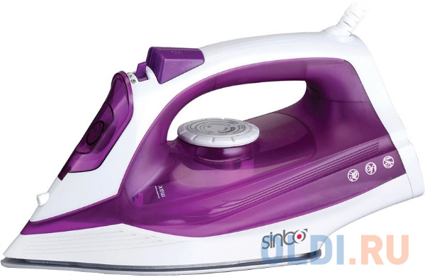 Утюг Sinbo SSI 6619 2400Вт фиолетовый белый утюг polaris pir2274k 2400вт керам