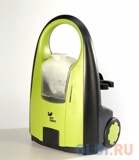 Пароочиститель KITFORT KT-903, 2000Вт, желто-зеленый