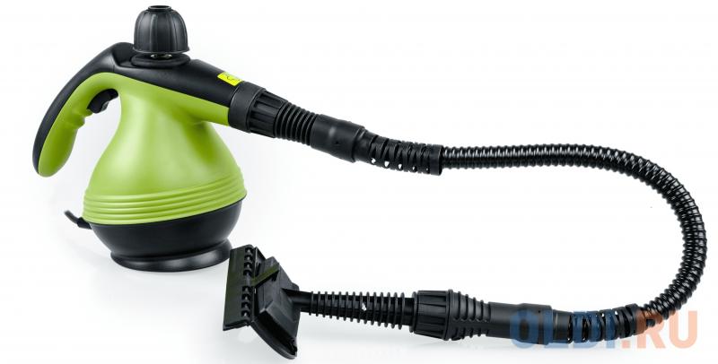 Пароочиститель KITFORT KT-906, 1200Вт зеленый
