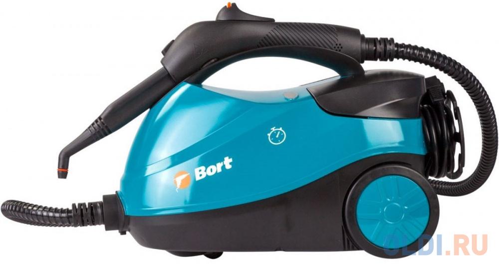 Пароочиститель BORT BDR-2300-R 2100Вт голубой