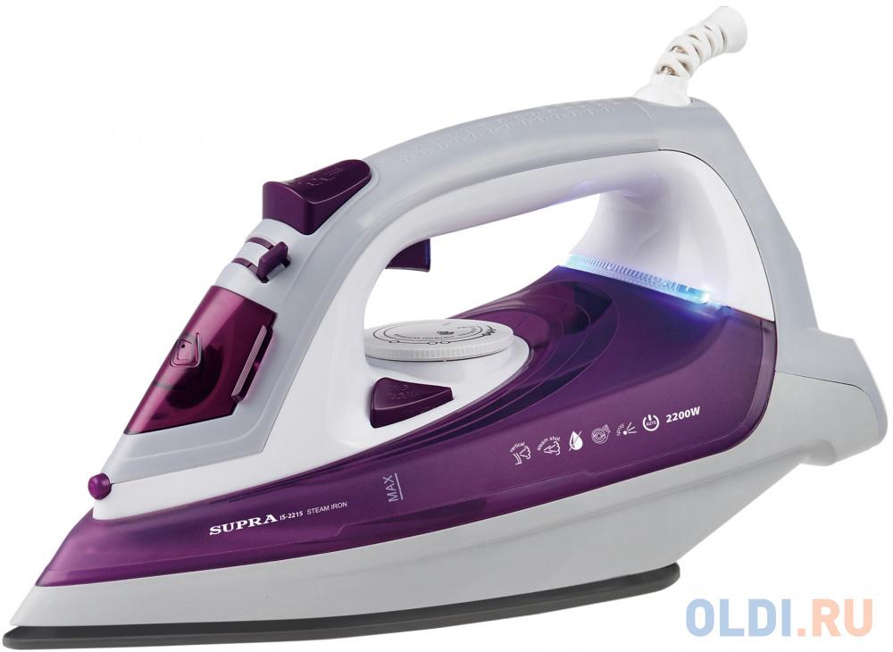 Утюг Supra IS-2215 2200Вт фиолетовый/белый