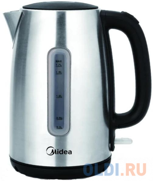 Чайник электрический Midea MK-8028 2200 Вт серебристый 1.7 л металл