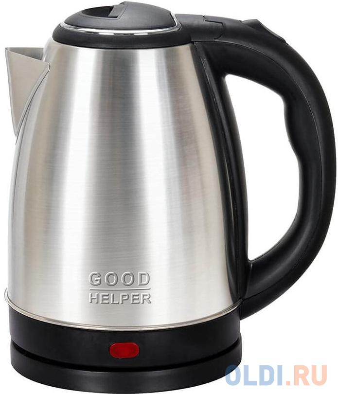 Чайник электрический Goodhelper KS-18B05 1500 Вт серебристый 1.8 л нержавеющая сталь фото