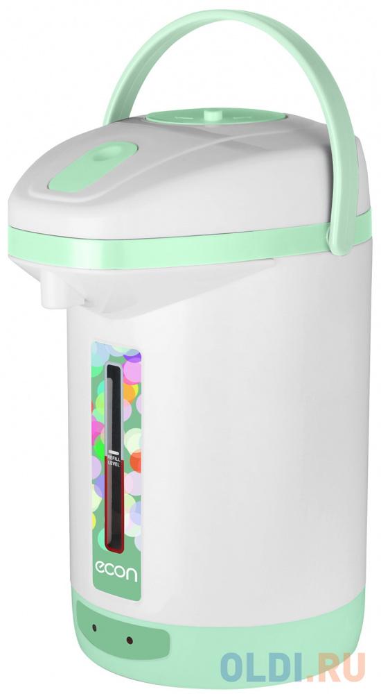 Термопот ECON ECO-250TP 600 Вт 25 л ручной насос пластик белый/зеленый.