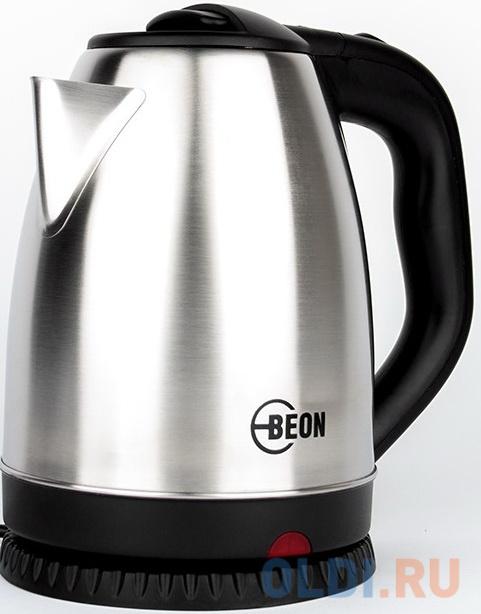 Чайник электрический Beon BN-301 2200 Вт серебристый 1.8 л нержавеющая сталь чайник kenwood zjm401tt 2200 вт 1 6 л нержавеющая сталь серебристый