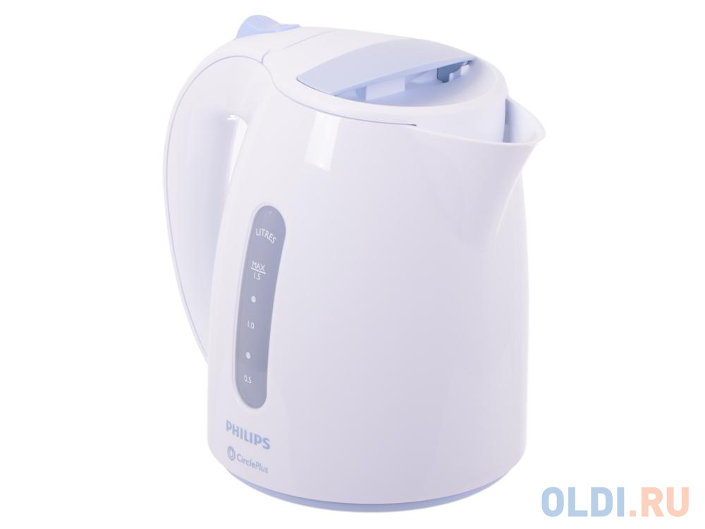 Чайник Philips HD 4646/70 2400 Вт белый 1.5 л пластик электрический чайник philips hd 4677 50 hd 4677 50