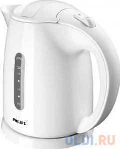 Чайник Philips HD 4646/00 2400 Вт белый 1.5 л пластик электрический чайник philips hd 4677 50 hd 4677 50
