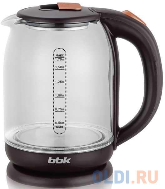 Чайник BBK EK1727G коричневый