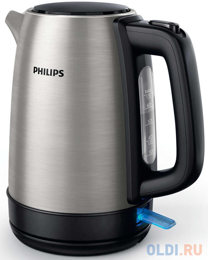 Картинка для Чайник Philips Daily Collection HD9350/91 2200 Вт серебристый 1.7 л металл