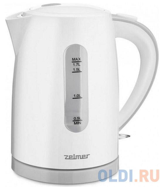 Чайник ZCK7616S WHITE/SYMBIO ZELMER