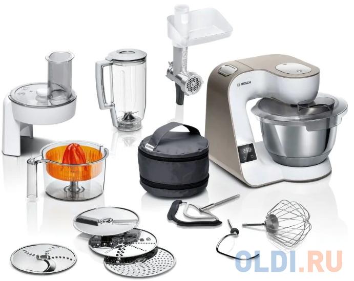 Кухонный комбайн Bosch MUM5XW40 белый недорого