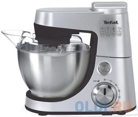 Кухонный комбайн Tefal QB408D38 серебристый