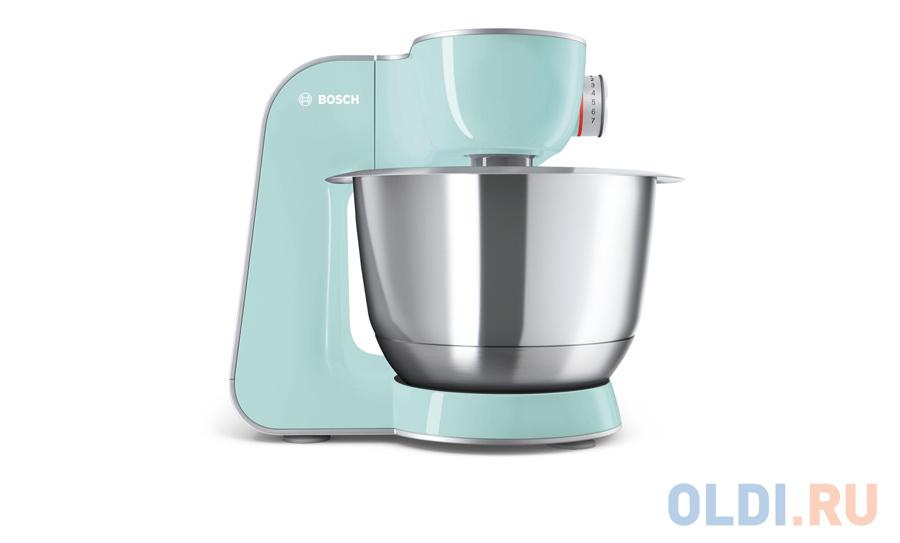 Кухонный комбайн Bosch MUM58020 серебристо-зеленый недорого