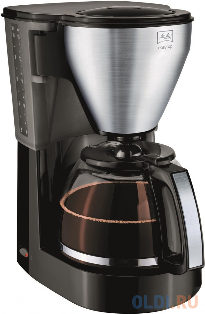 Кофеварка Melitta Easy Top 1050 Вт черный 6729554