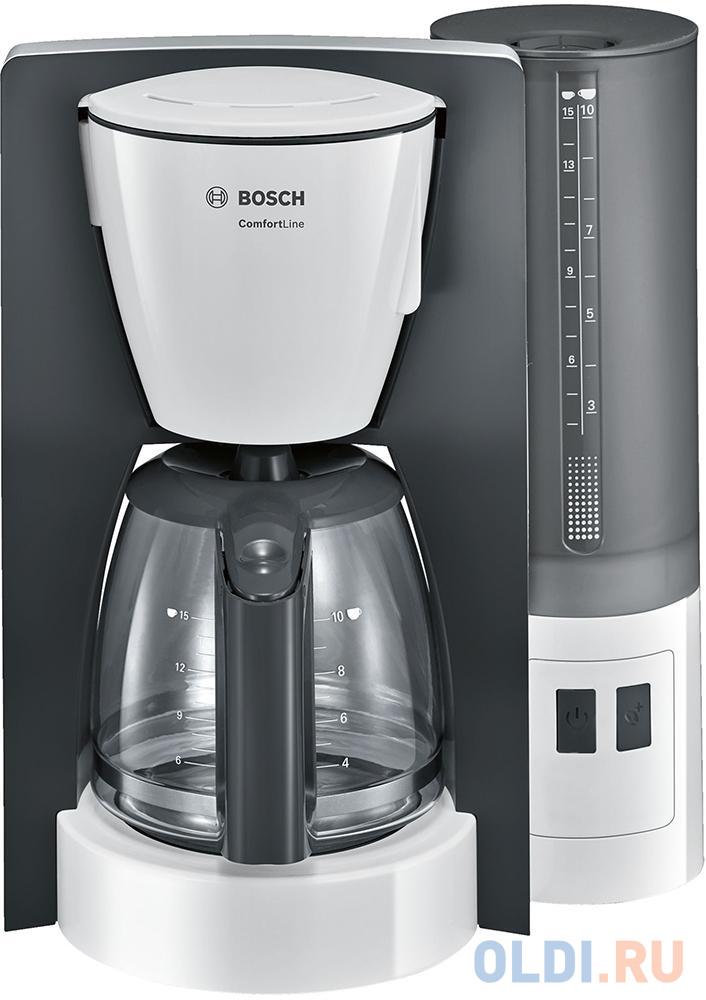 Кофеварка Bosch TKA6A041 1200 Вт серый
