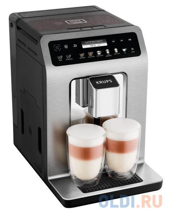 Кофемашина Krups EA894T10 1450 Вт серебристый