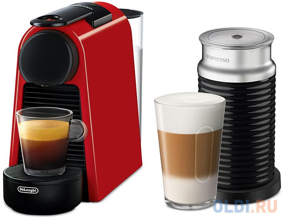 Кофемашина DeLonghi EN 85 RAE Nespresso 1250 Вт красный