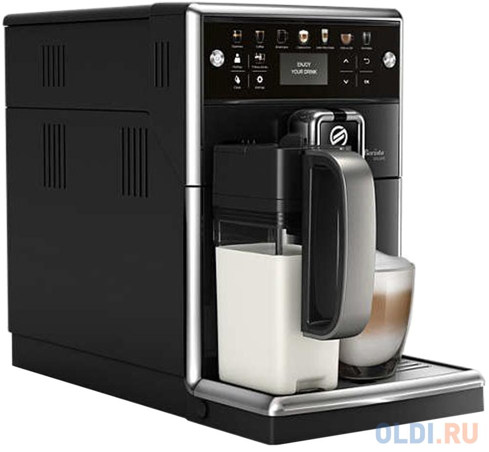 Кофемашина Philips Saeco PicoBaristo Deluxe SM5570/10 1850 Вт черный кофемашина philips ep5035 10
