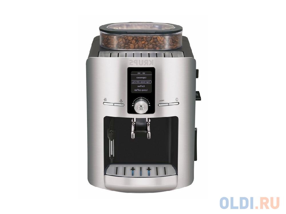Кофемашина Krups EA826 1450Вт 1.8л черный