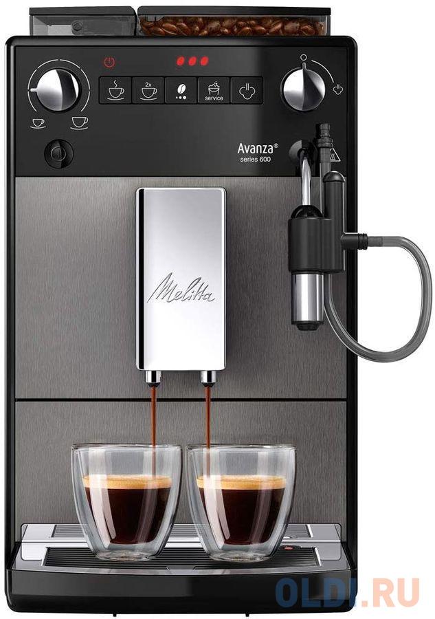 Кофемашина Melitta Caffeo Avanza черный серебристый