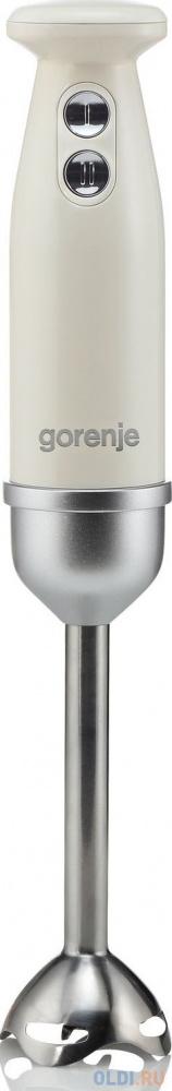 Блендер погружной Gorenje HBX603RL 600Вт бежевый 11097 блендер с чашей 600вт 5пр лезвие нерж zm х6